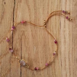 Bracelet opale sertie vermeil